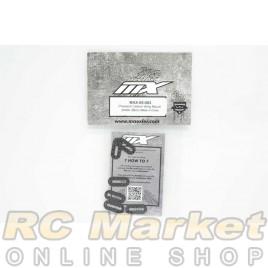 MXLR MAX-05-003 Precision Carbon Wing Mount Plates (8pcs)