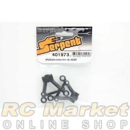 SERPENT 401973 Wishbone Lower FR/RR (2) X20M