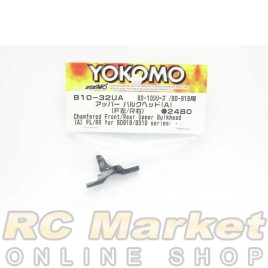 YOKOMO B10-32UA Chamfered Front/Rear Upper Bulkhead (A) FL/RR for BD919/B10 Series