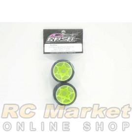 RUSH RU0904 1/12 Mounted Foam Rear Tire Type Platinum Rear (2pcs)