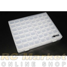 ARENA HBLC Hardware Box Large Clear 21x17.5x2.6cm, (56 in 1 Box)