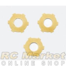 SERPENT 500158 Slipper Pad Yellow (3) SRX2