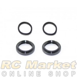 SERPENT 500183 Shock Adjust Nut / O-Ring (2) SRX2