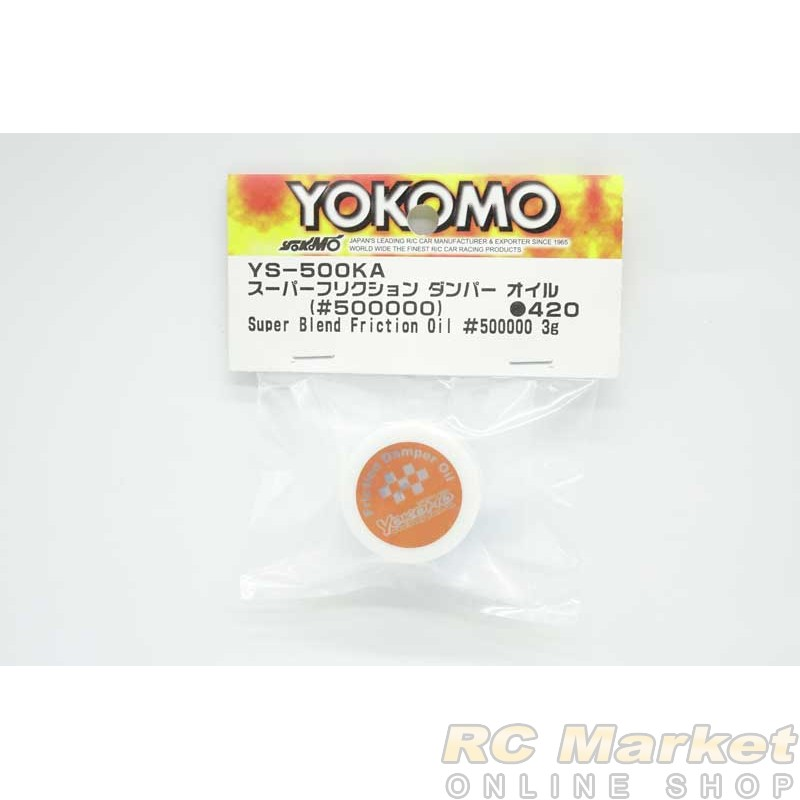 YOKOMO YS-500KA Super Blend Friction Oil #500000 3g