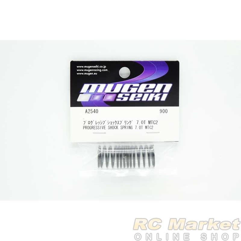MUGEN SEIKI A2540 MTC2 Progressive Shock Spring 7.0T