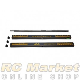 ARROWMAX 171080 Quick-Tweak Station For 1/8 On-Road Cars & 1/10, 1/12 Black Golden