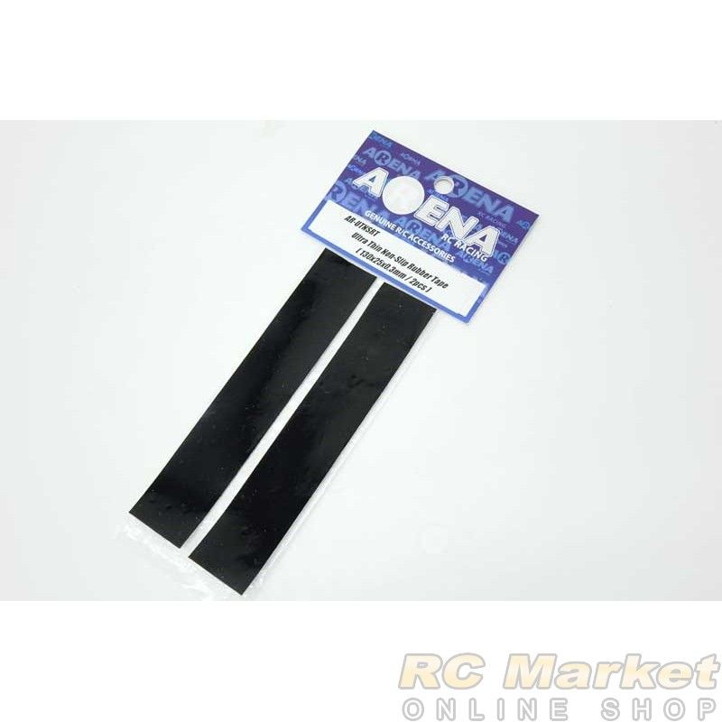 ARENA UTNSRT Ultra Thin Non-Slip Rubber Tape (130x25x0.3mm / 2pcs)