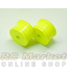 SERPENT 500106 1/10 Buggy Rim RR Yellow (2)