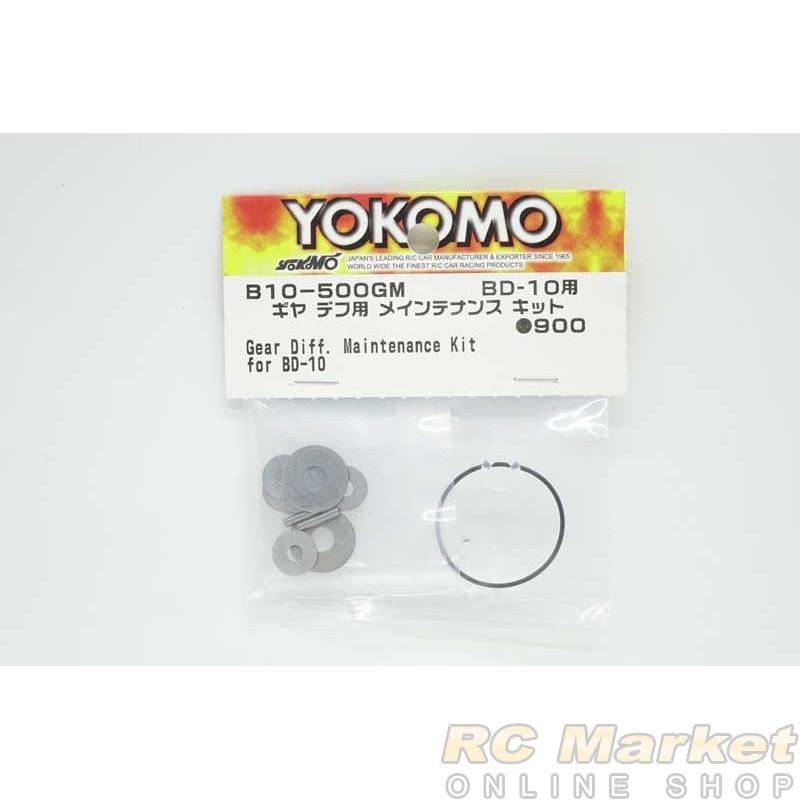 YOKOMO B10-500GM Gear Diff. Maintenance Kit for BD10