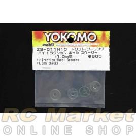 YOKOMO ZS-011H10 1.0mm Hi-Traction Wheel Spacers (1.0mm Thick)