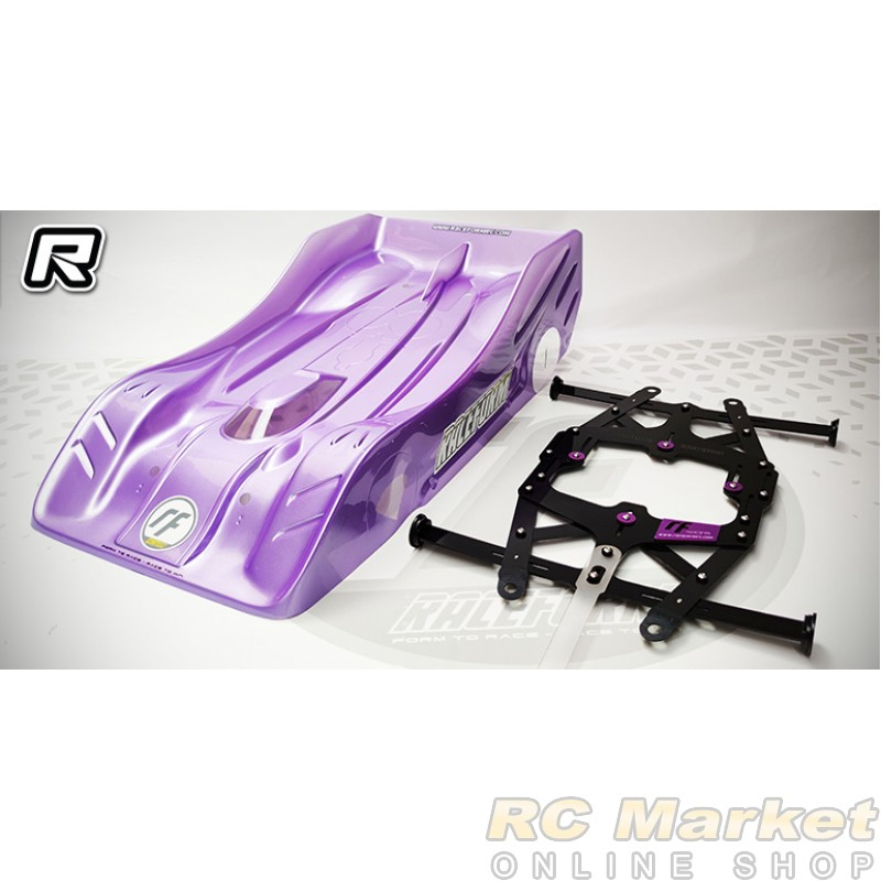 XCEED 104119 1/8 On-Road Pro Body Post Laser Tracer