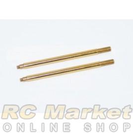 SERPENT 500202 Shock Shaft RR TiN Coated (2)