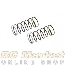 SERPENT 500222 Shock Spring Silver 2,5lbs FR (2) SRX2