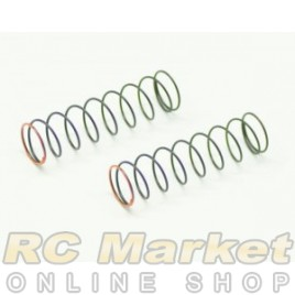 SERPENT 500230 Shock Spring Orange 2,0lbs RR (2) SRX2