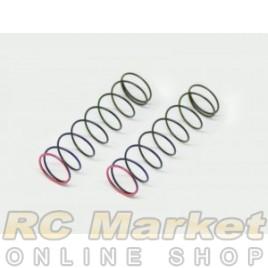 SERPENT 500232 Shock Spring Pink 2,2lbs RR (2) SRX3