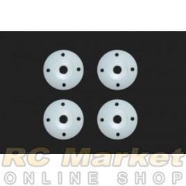 SERPENT 500240 Shock Piston Conical 4 Holes (4) SRX2