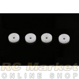 SERPENT 500488 Shock Piston Square Machined 2-Hole 1.3 (4)