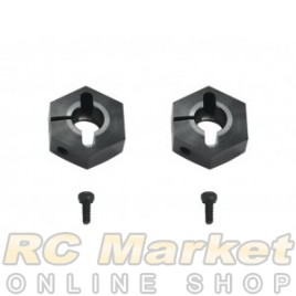 SERPENT 500693 Wheelhexacon -2mm (2) SRX2 Gen3