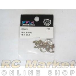 MUGEN SEIKI B0726 OE-5 E-Ring Set (10)