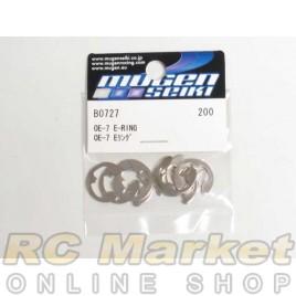 MUGEN SEIKI B0727 OE-7 E-Ring Set (10)