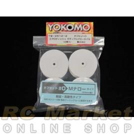 YOKOMO TW2512-2 Dish Narrow Wheels