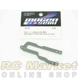 MUGEN SEIKI A2125 MTC1 Rear Graphite Upper Deck (Ultra Flex)
