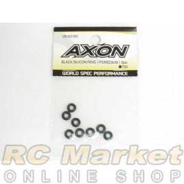 AXON OR-SO-002 Black Silicon Ring (P3/Medium) 8pic