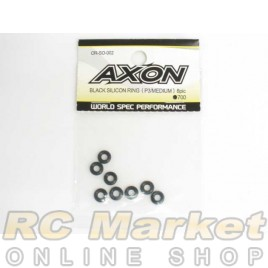 AXON OR-SO-002 Black Silicon Ring (P3/Medium) 8pic