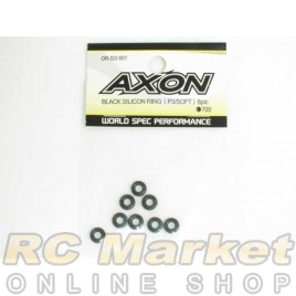 AXON OR-SO-001 Black Silicon Ring (P3/Soft) 8pic
