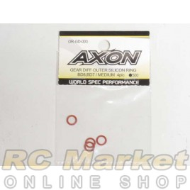 AXON OR-GD-003 Gear Diff Outer Silicon Ring/BD8 Medium 4pic