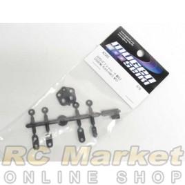 MUGEN SEIKI A2302 MTC1 Steering Plate Parts Set