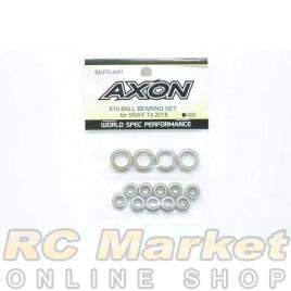 AXON BS-PG-X001 X10 Ball Bearing Set For Xray T4 2018