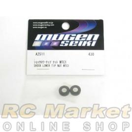 MUGEN SEIKI A2511 MTC1 Shock Lower Tip Nut (2)