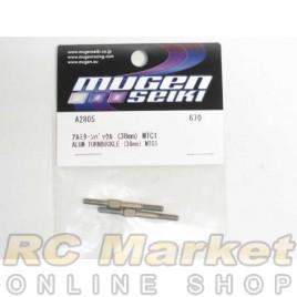 MUGEN SEIKI A2805 MTC1 38mm Alum Turnbuckle (2)