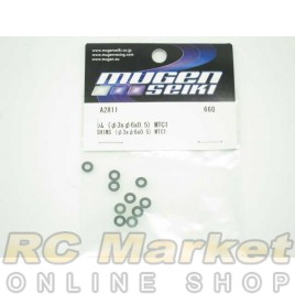 MUGEN SEIKI A2811 MTC1 Shims (3x6x0.5)