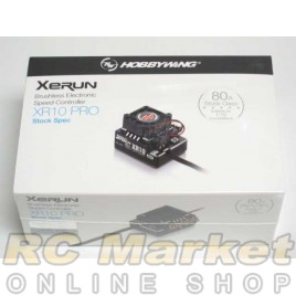 HOBBYWING 30112401 Xerun XR10 PRO Stock Spec 80A Brushless ESC