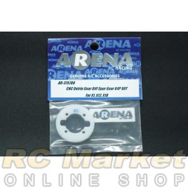 ARENA 375780 CNC Delrin Gear Diff Spur Gear – 80T/64P for X1, X12, X10
