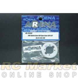 ARENA 375782 CNC Delrin Gear Diff Spur Gear – 82T/64P for X1, X12, X10