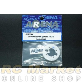 ARENA 375784 CNC Delrin Gear Diff Spur Gear – 84T/64P for X1, X12, X10