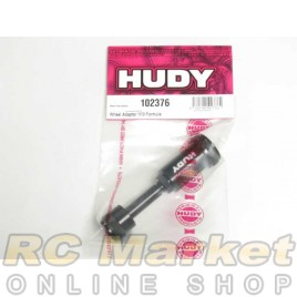 HUDY 102376 Wheel Adapter 1/10 Formula