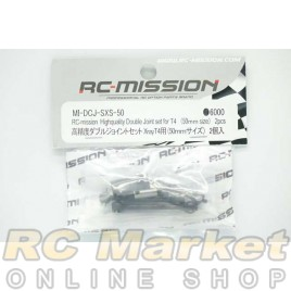 RC MISSION MI-DCJ-SXS-50 High Quality Double Joint Set For Xray T4 (50mm) 2pcs
