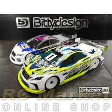 BITTYDESIGN JP8 1/10 190mm Clear TC  Body (Lightweight) EFRA 4058
