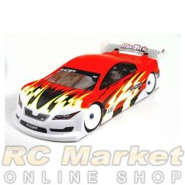 MON-TECH 017-008L RACER Touring 190mm Clear Body (La Leggera) EFRA 4055