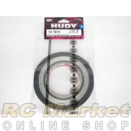 HUDY 107870 Fibre-Reinforced Tape - Black