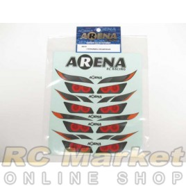 ARENA HLD-01 1/10 Headlight & Tail Light Decals