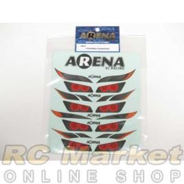 ARENA 1/10 Headlight & Tail Light Decals