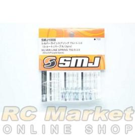 SMJ SMJ1008 Silver Line Spring TS2.5-3.0 (Short/Purple/2pcs)