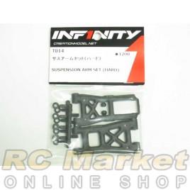 INFINITY T014 IF14 Suspension Arm Set (Hard)