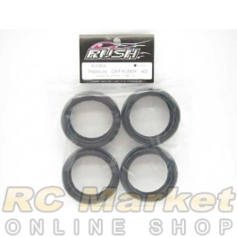 RUSH RU0406 Premium Grip Rubber 40S
