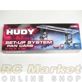 HUDY 109405 Universal Exclusive Set-Up System for 1/10 & 1/12 Pan Cars